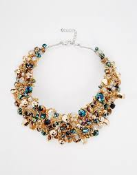 beaded collar necklace images Aldo aldo harmonie beaded collar necklace