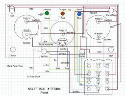 mg tf dash wiring mg wiring diagrams