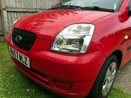 kia picanto 1 0 gs petrol 5 door red 57 plate hatchback small car