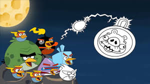 angry birds space drawing coloring pages angry birds space