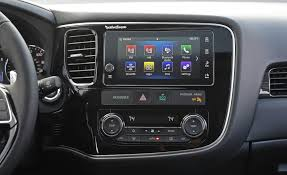 mitsubishi interior 2017 mitsubishi outlander gt interior view headunit and multimedia