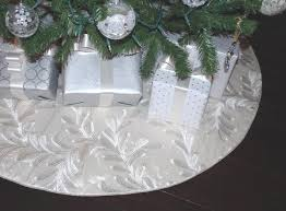 50 tree skirt white silver tree skirts in large and