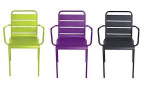 chaise jardin aluminium fauteuil jardin aluminium chaise jardin allibert luxury jardiland