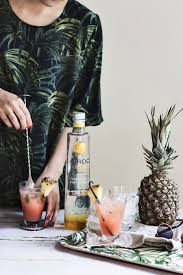 martini pineapple splash of summer ciroc pineapple cocktail