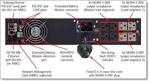 rt1 5kva rt2 2kva and rt3kva 2u rack or tower uninterruptible