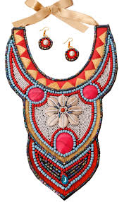bib necklace beaded images Jazzy jewelry bib necklace jpeg
