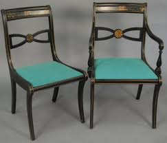dining room upholstered dining chairs duncan phyfe with dark wood