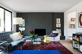 20 painted brick fireplaces in the living room home design lover