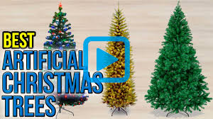 Popular Artificial Silver Tip Christmas Tree by Top 10 Artificial Christmas Trees Of 2017 Video Review