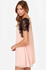 Light Pink Dress Plus Size Short Lace Dress Plus Size Women Dress Short Sleeve Night