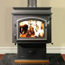 Pedestal Wood Burning Stoves Quadra Fire 3100 Step Top