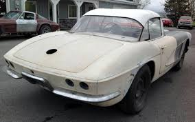 1961 corvette project for sale mostly complete 1961 corvette