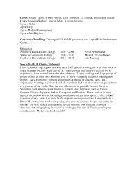 aarons work resume