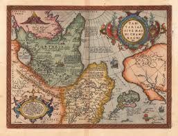 Ural Mountains On World Map by Tartary Latin Tartaria Or Great Tartary Latin Tartaria Magna