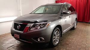 nissan pathfinder gun metallic 2015 nissan pathfinder sl v6 4x4 at youtube