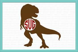 martini svg dinosaur monogram svg dinosaur svg di design bundles