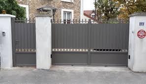 Portillon Alu Pas Cher by Portail En Aluminium Style Traditionnel Avec Petits Ronds