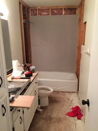 the upstairs bathroom remodel part 1 of 2 verlo house to home