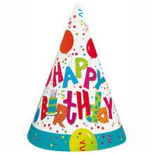 birthday hats birthday jamboree party hats 8ct