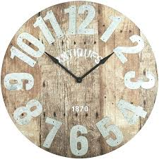 reclaimed wood wall large large wood wall clocks like this item large reclaimed wood wall