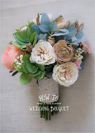 wedding flowers silk how to make a faux flower bridal bouquet wedding flowers
