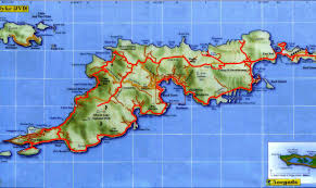 map of the bvi tortola island map tortola island islands mappery