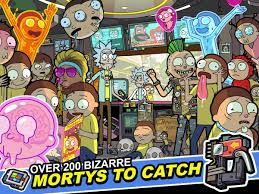pocket mortys android apps on google play