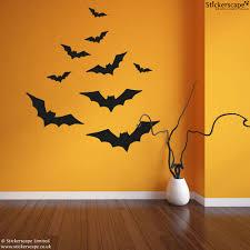 Pictures Of Halloween Bats Halloween Bats Wall Stickers Stickerscape Uk