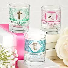 baptism candle favors baby christening candle favors