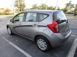 grey nissan versa 2015 used nissan versa note sv hatchback at expert auto group inc