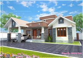 small single floor house with floor plan kerala home design and