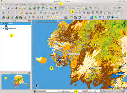 qgis layout mode features at a glance qgis user guide 1 7 4 documentation