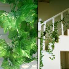 2017 240cm long artificial plants green ivy leaves artificial