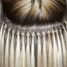 micro ring extensions hair extensions at our oxted hairdressing salon