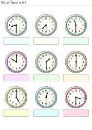 printable activities for kids what time is it 12