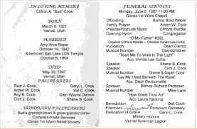 funeral program wording sle memorial programs fresh admin author at funeral templates