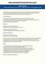 sales resume exles 2015 nurse compact pediatric registered nurse resume exles sle pictures hd