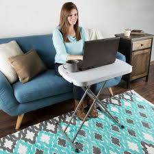 lifetime 26 personal folding table rectangle everyday home the home depot