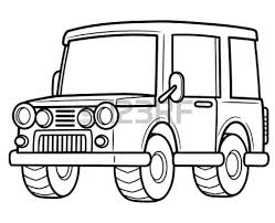 pickup truck clipart black and white clipart panda free