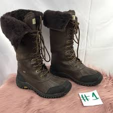 ugg s adirondack boots obsidian 70 ugg shoes ugg australia adirondack in obsidian from