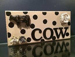Cow Decor Amazon Com Rustic Cow Home Decor Cow Art Under 30 Christmas