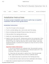 100 tempstar furnace installation manual heavy duty ac