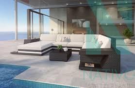 canap lounge canapé lounge carezza avec éclairage led nativo suisse