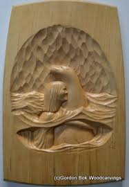 gordon bok wood carvings