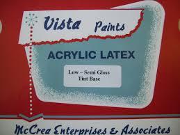 interior paint products vista paints
