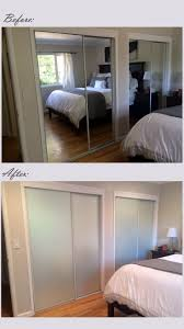 interior french doors frosted glass best 25 closet door makeover ideas on pinterest door makeover