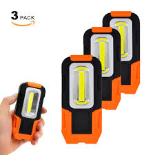 battery powered portable led work lights battery operated portable magnetic 3w cob led work lights inspection