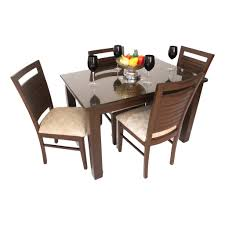 Solid Teak Wood Furniture Online India Even Hudson Wooden Teak Wood Dining Set Woodys Furniture