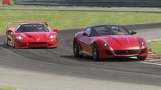 f50 top gear 812 superfast at top gear testing virtua sports cars