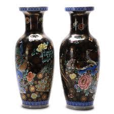 Large Decorative Floor Vases Set Of Four Large Decorative Floor Vases With Stands Ebth